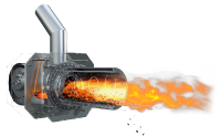 Hořák 10 - 50 kW