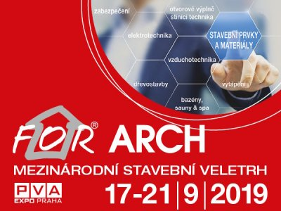 Vstupenky na FOR ARCH 2019